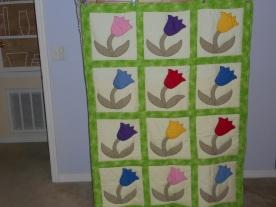 My 'copy' of Tulip Quilt