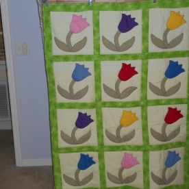 My 'copy' of Tulip Quilt