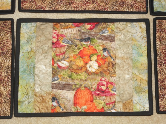 Front of Fall placemats